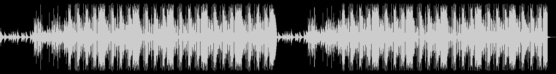 さすらいの一匹狼トラップビート曲の未再生の波形