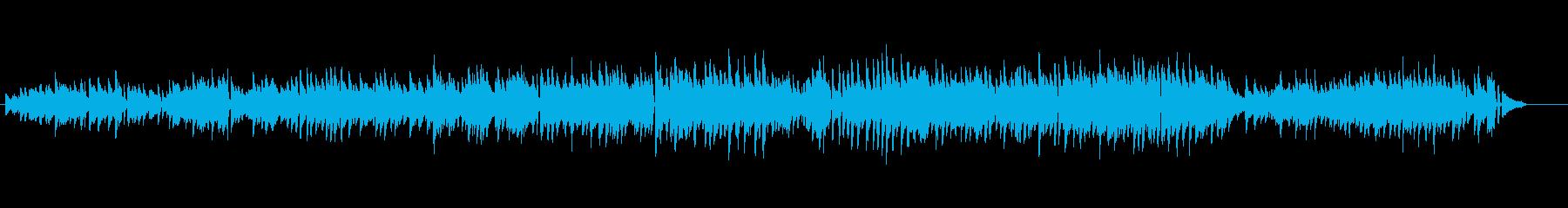 生ピアノソロ・爽やかなラテンピアノの再生済みの波形