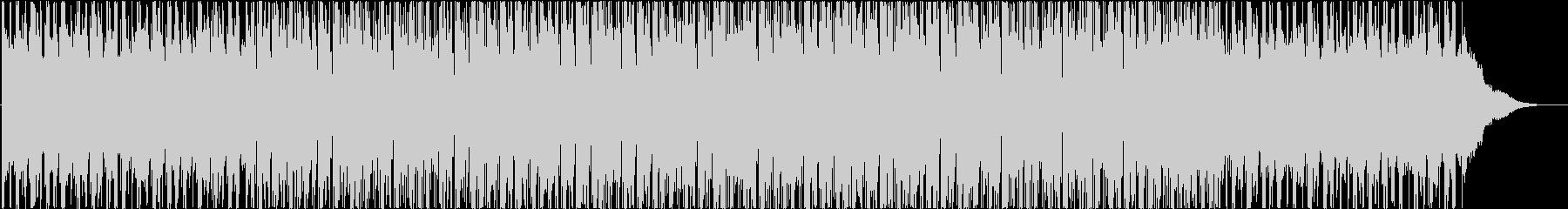 ポジティブ、エネルギッシュ、ヒップホップの未再生の波形