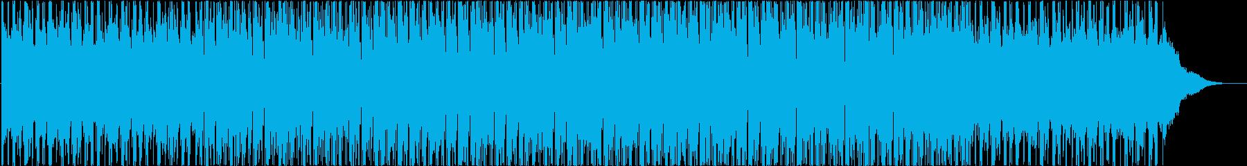 ポジティブ、エネルギッシュ、ヒップホップの再生済みの波形