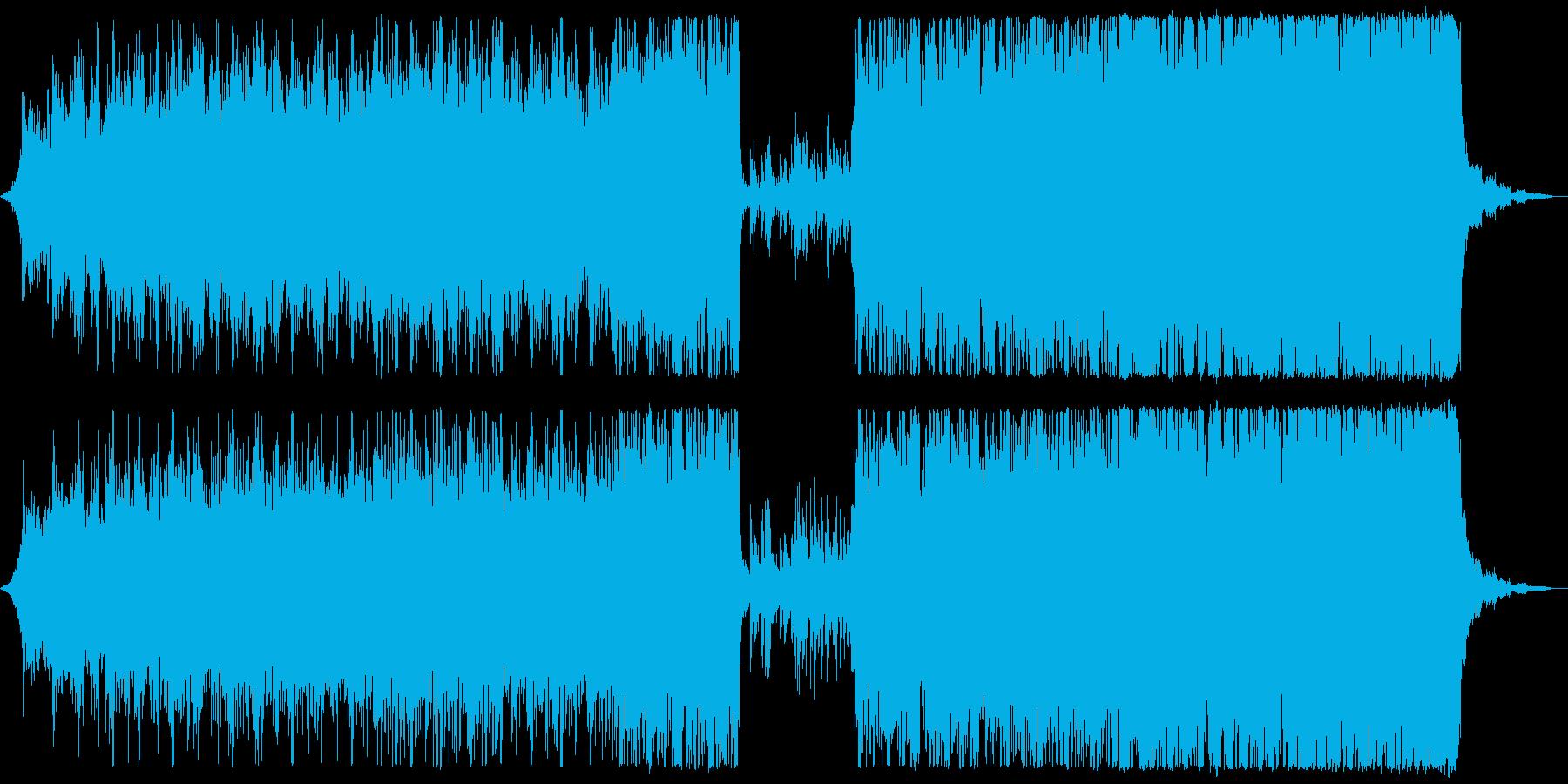 現代的 交響曲 エレクトロ 励まし...の再生済みの波形