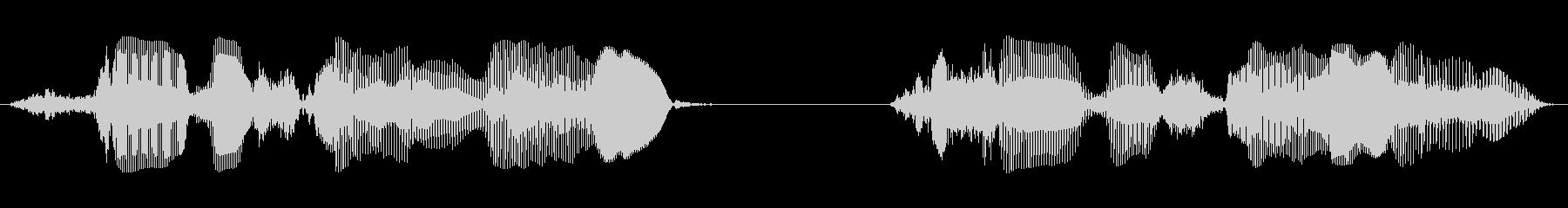 成人女性D:サービスライン1、サー...の未再生の波形