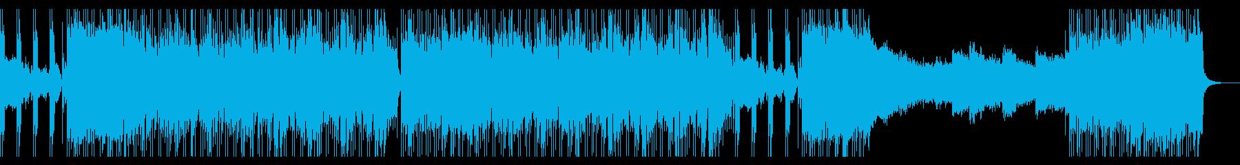 尺八と三味線!重厚感ある和風ロックの再生済みの波形