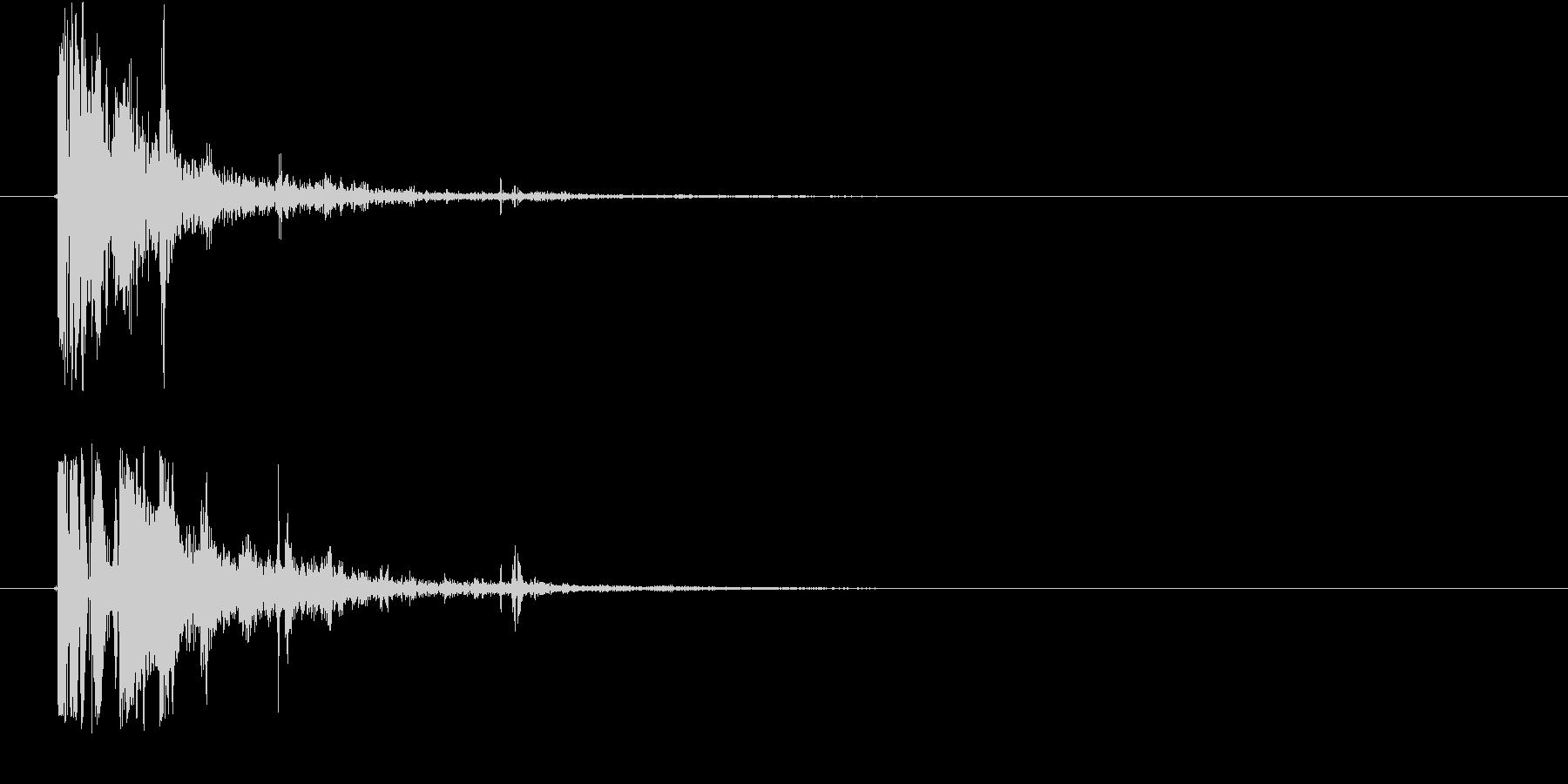 マスケット銃:シングルショット、ラ...の未再生の波形