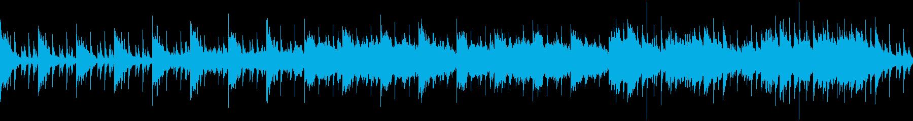 ファンタジー村48khz24bit版の再生済みの波形