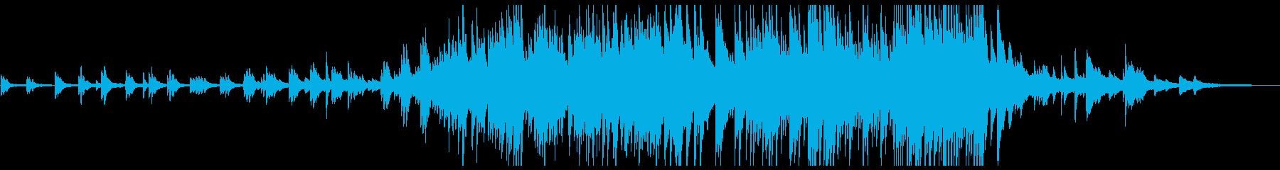 ピアノソロ:「海」最終楽章「旅立ち」の再生済みの波形
