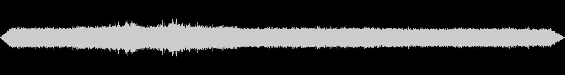 蝉と街の音④~飛行機~の未再生の波形