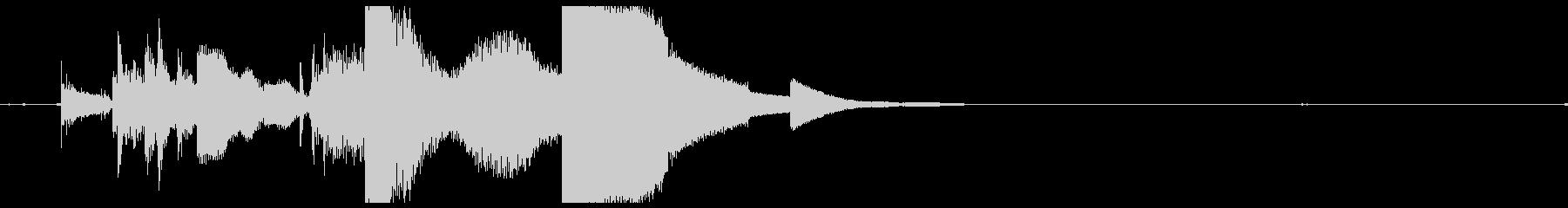 ドアキードロップの未再生の波形