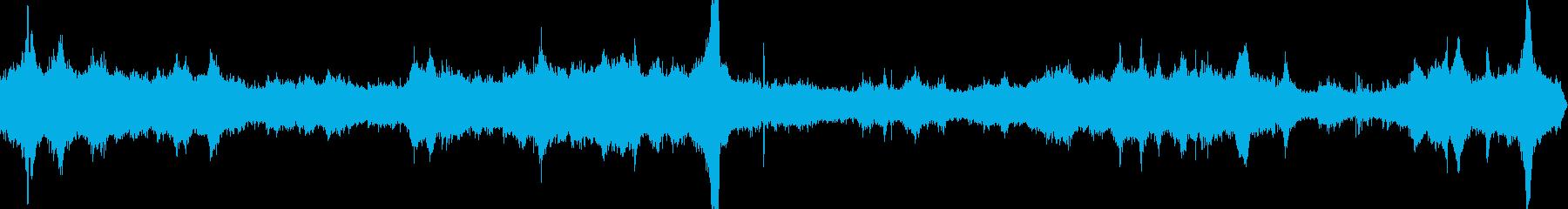 朝の幹線道路02の再生済みの波形