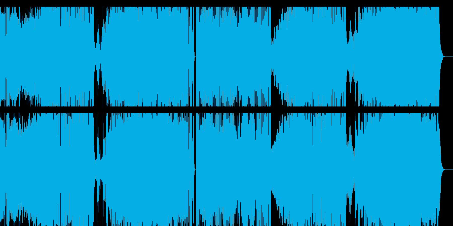 灼熱の夏!サマーアンセム-ダンスサウンドの再生済みの波形