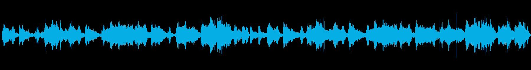 幸せウクレレとストリングス15秒ループの再生済みの波形