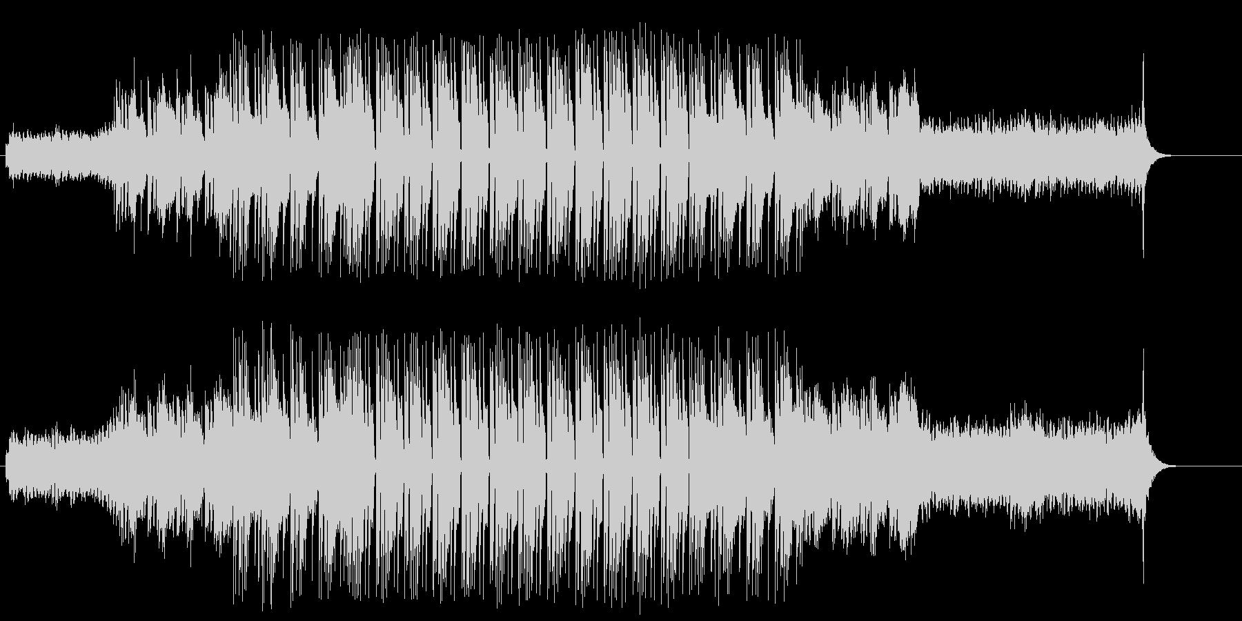 怪しげなマイナー・エレクトリックBGMの未再生の波形