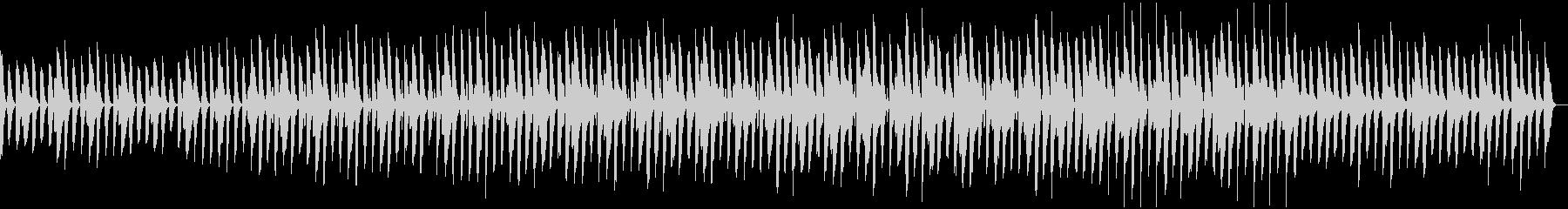 軽やか・かわいい・和みペット動画の未再生の波形