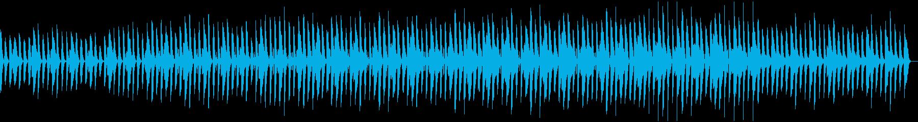 軽やか・かわいい・和みペット動画の再生済みの波形
