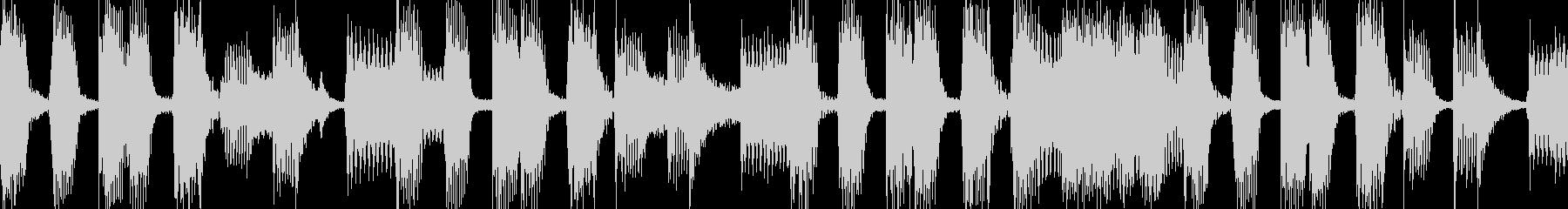 Brassメインのバンドサウンドの未再生の波形