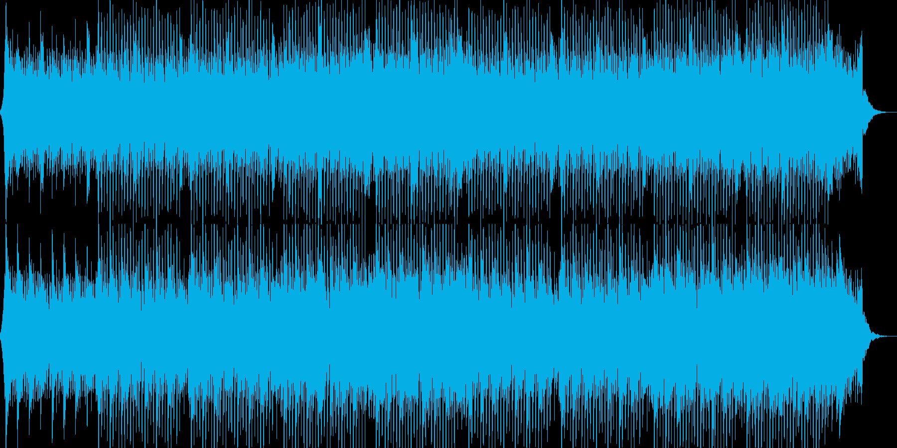 企業VP系44、爽やかギター4つ打ちaの再生済みの波形