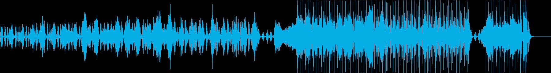 ポップ、爽やか、日常BGMの再生済みの波形