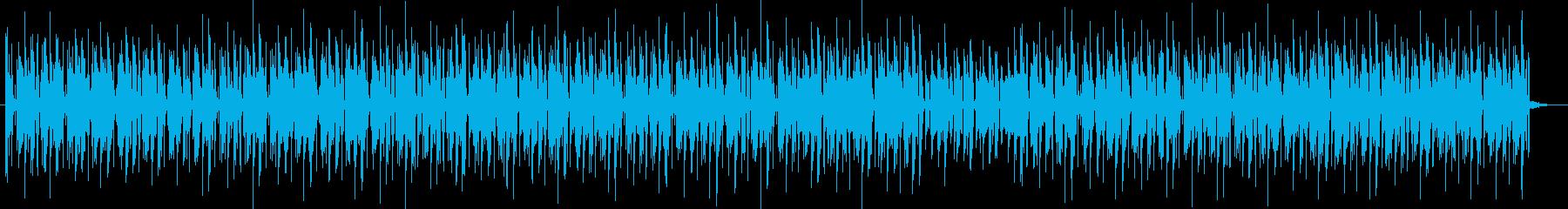 大人な雰囲気もありつつポップさもある曲の再生済みの波形