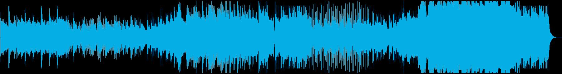 綺麗なピアノメロディの感動バラードの再生済みの波形