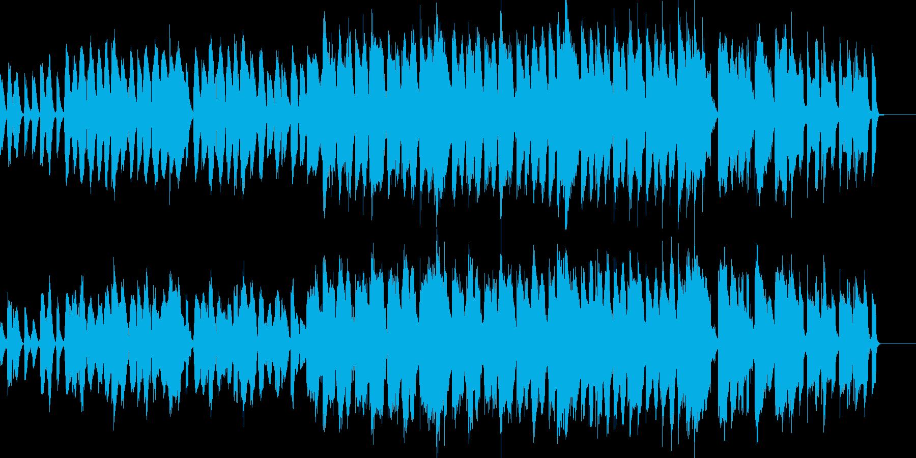 のほほんとした日常で使えるBGMの再生済みの波形