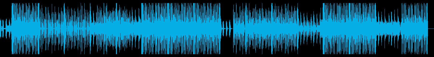 トロピカルおしゃれR&B〜ポップインストの再生済みの波形