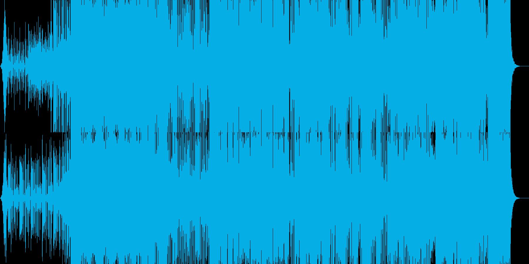 ミディアムテンポのご機嫌ビッグバンドの再生済みの波形