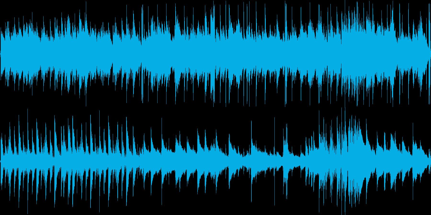 【アコギ】アコギを重ねたほのぼのとした…の再生済みの波形
