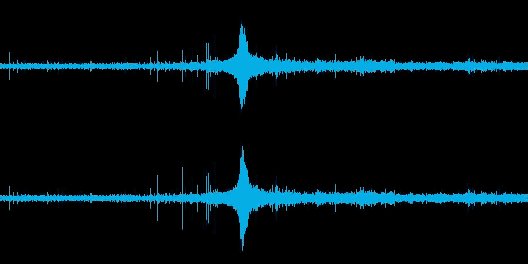 ぱらぱら・ケロケロの再生済みの波形