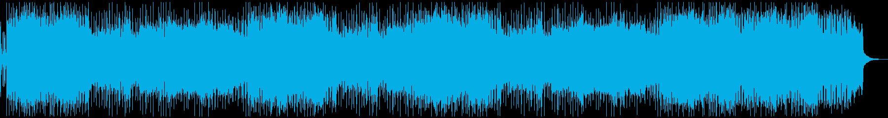 疾走感溢れるギターサウンド  の再生済みの波形