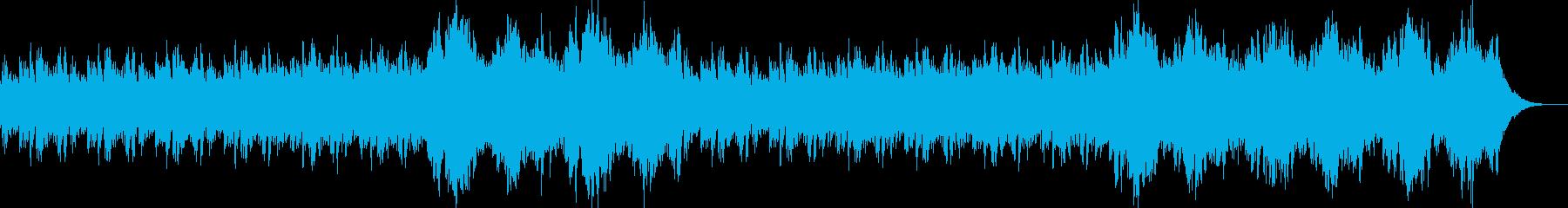 ピアノ、環境音楽ヒーリング-08の再生済みの波形