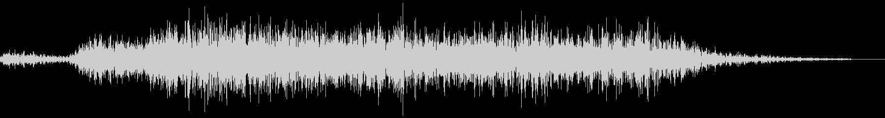 シュー(スプレーを吹く音)の未再生の波形