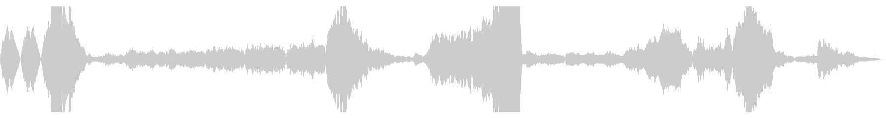 交響曲新世界より 第2楽章冒頭の未再生の波形