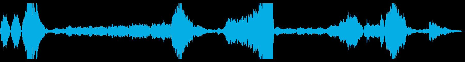交響曲新世界より 第2楽章冒頭の再生済みの波形