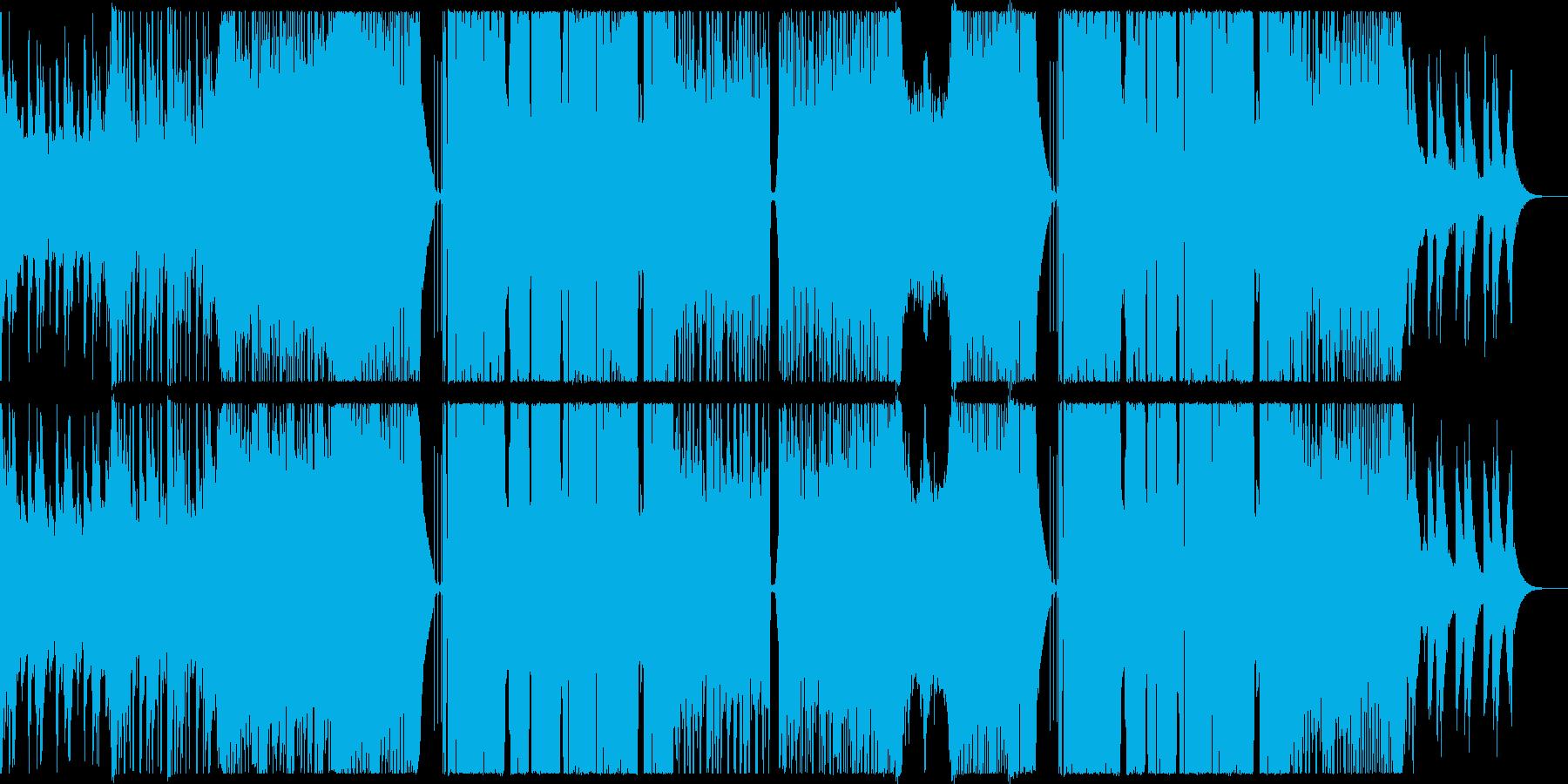爽やかで感動的なフューチャーベース。の再生済みの波形
