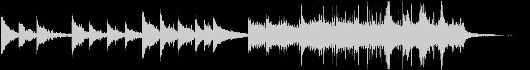 空気感のある感動的なポストロック CMの未再生の波形