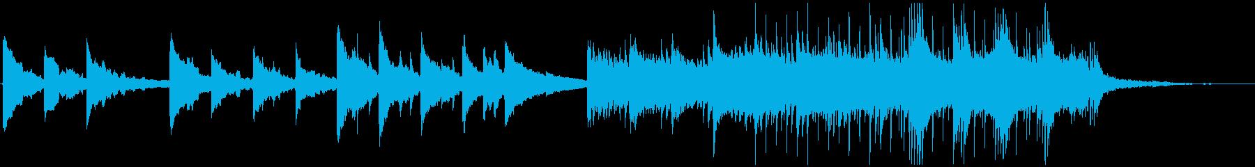 空気感のある感動的なポストロック CMの再生済みの波形
