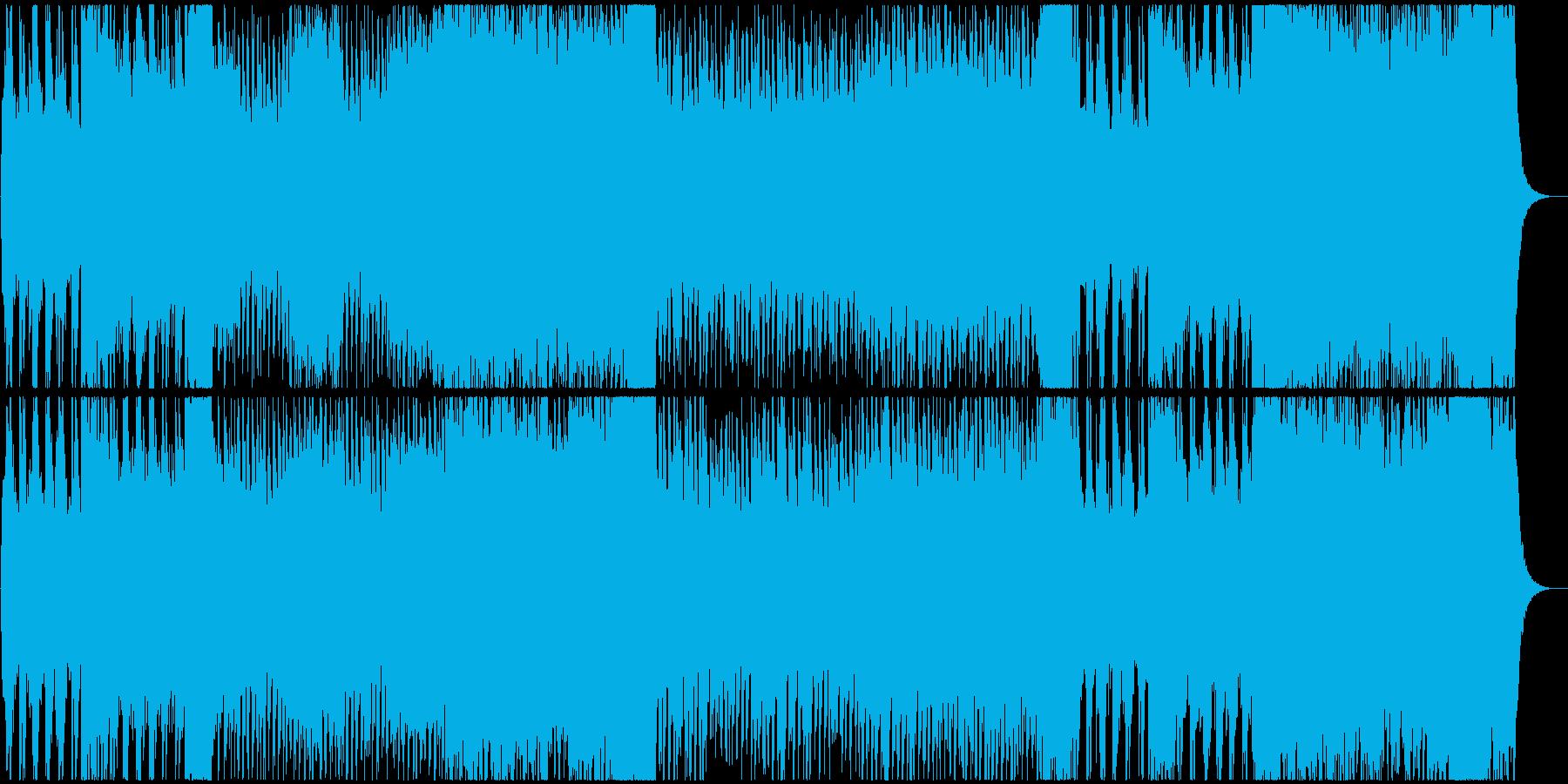 コーラス付き映画・ゲームのバトルBGMの再生済みの波形