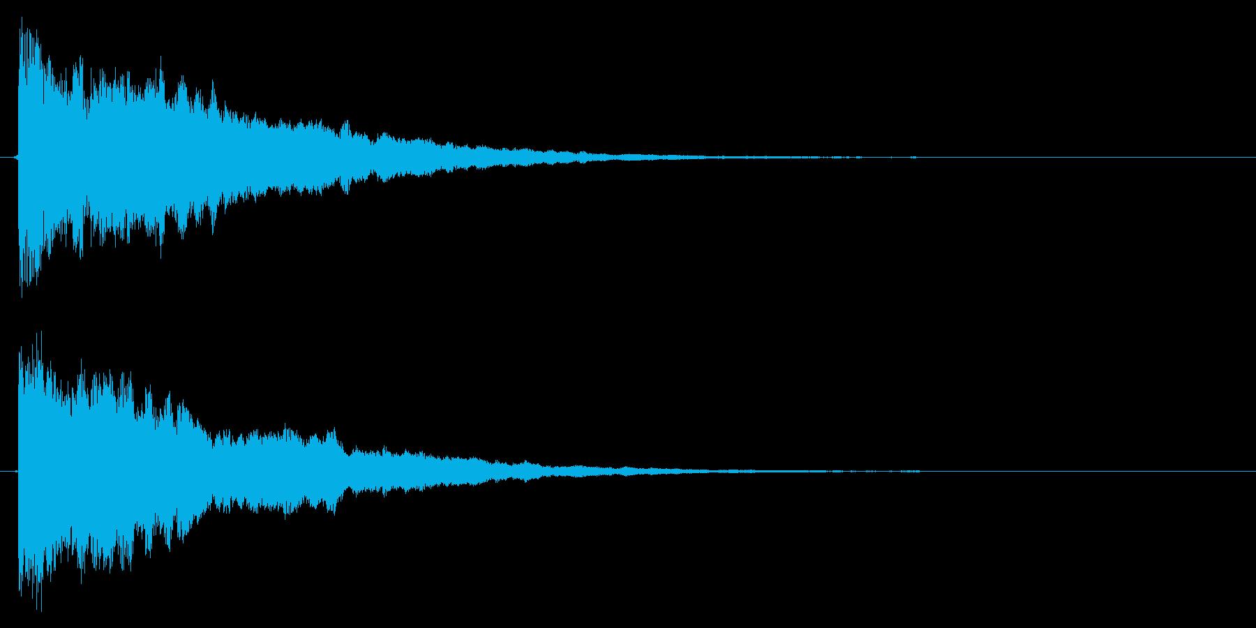 決定音/SF/星の再生済みの波形