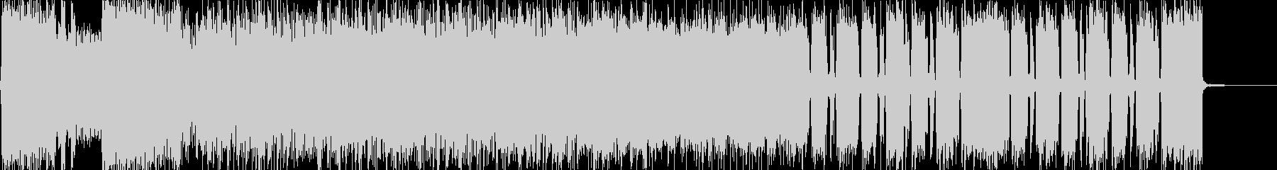 生演奏 激ロック/メタル怒り憤り興奮の未再生の波形