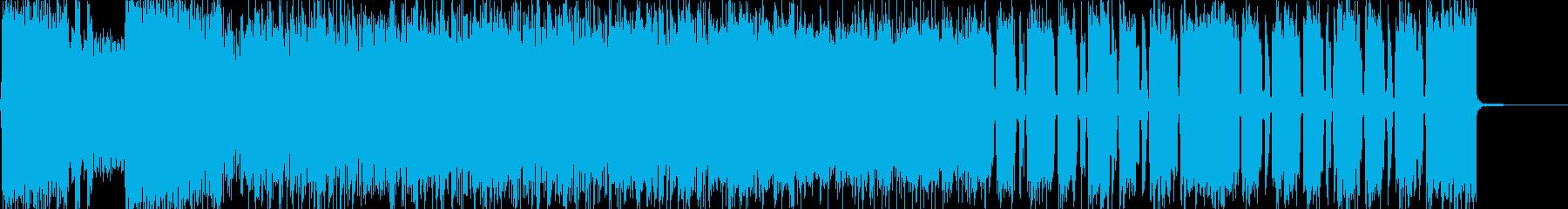 生演奏 激ロック/メタル怒り憤り興奮の再生済みの波形