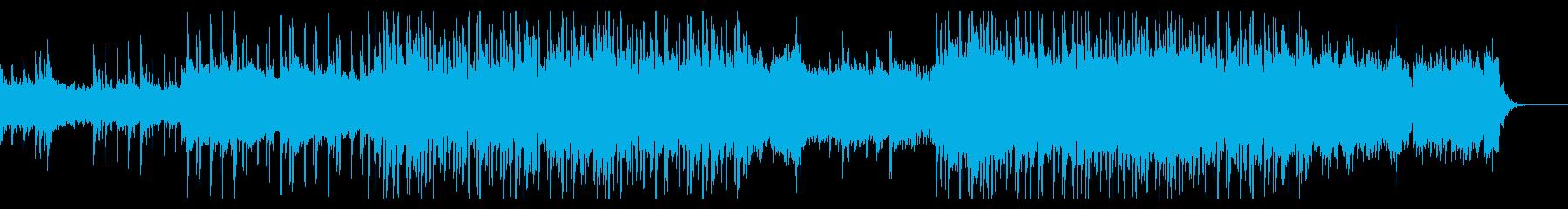 ポップ テクノ アンビエント おし...の再生済みの波形
