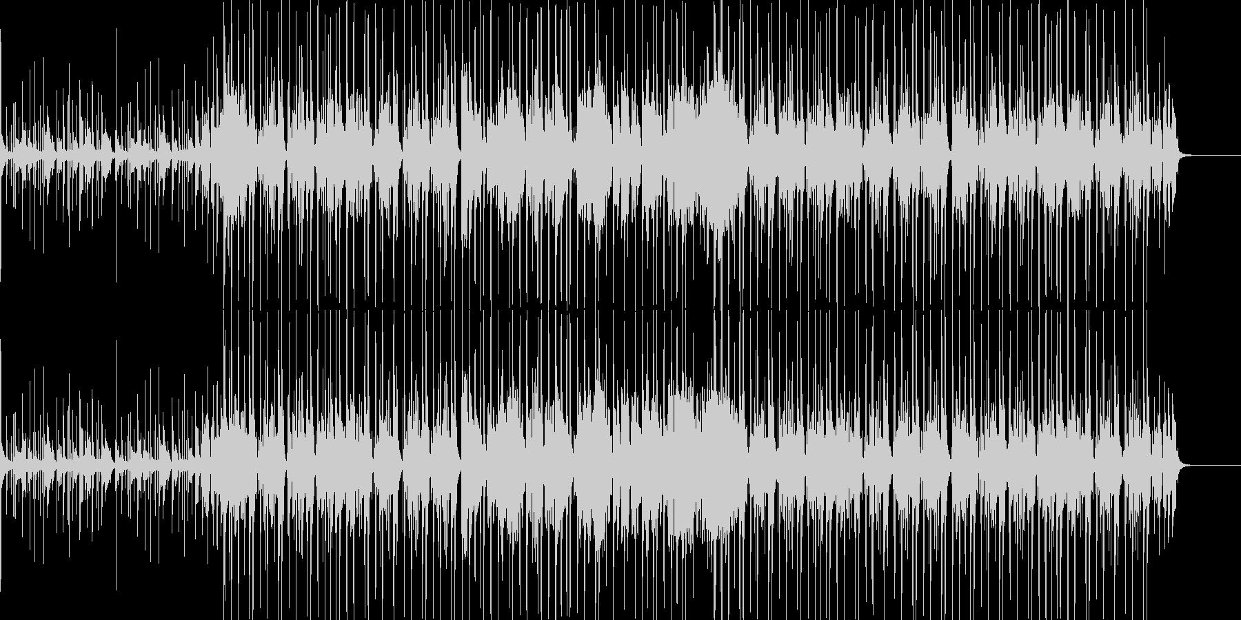 サックスの入ったファンクな曲の未再生の波形