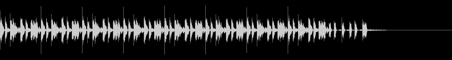 ニュース4(約30秒 ループ可)の未再生の波形