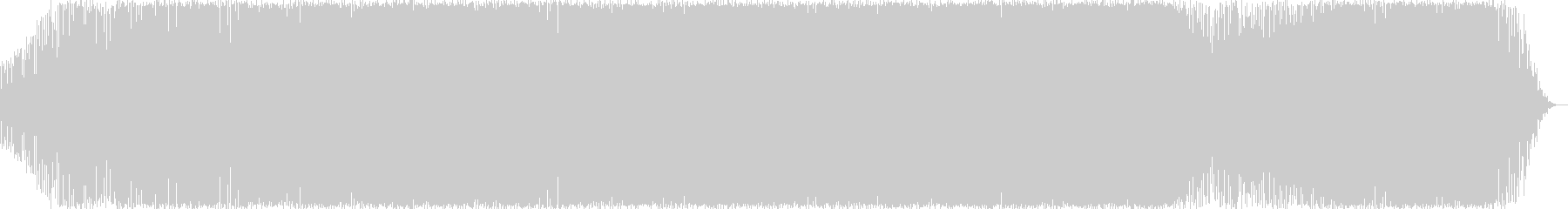 メロディが印象的なノリの良いEDMの未再生の波形
