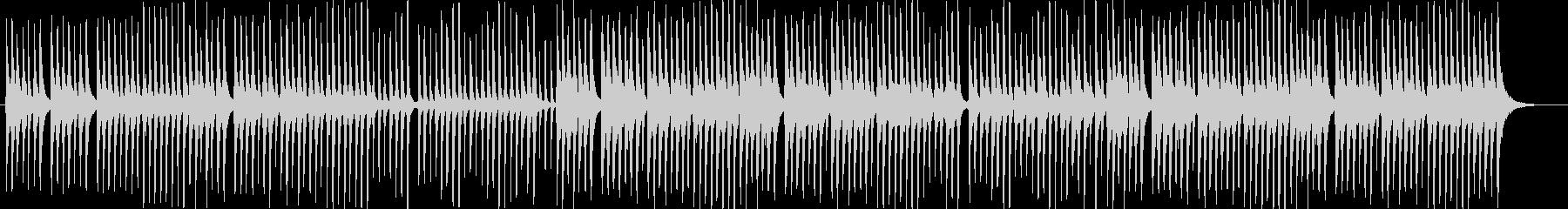 三味線と太鼓のシンプルな和風曲。の未再生の波形