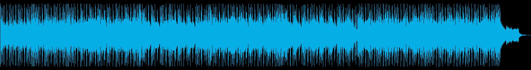 アコギのアルペジオ主体の定番的J-R&Bの再生済みの波形