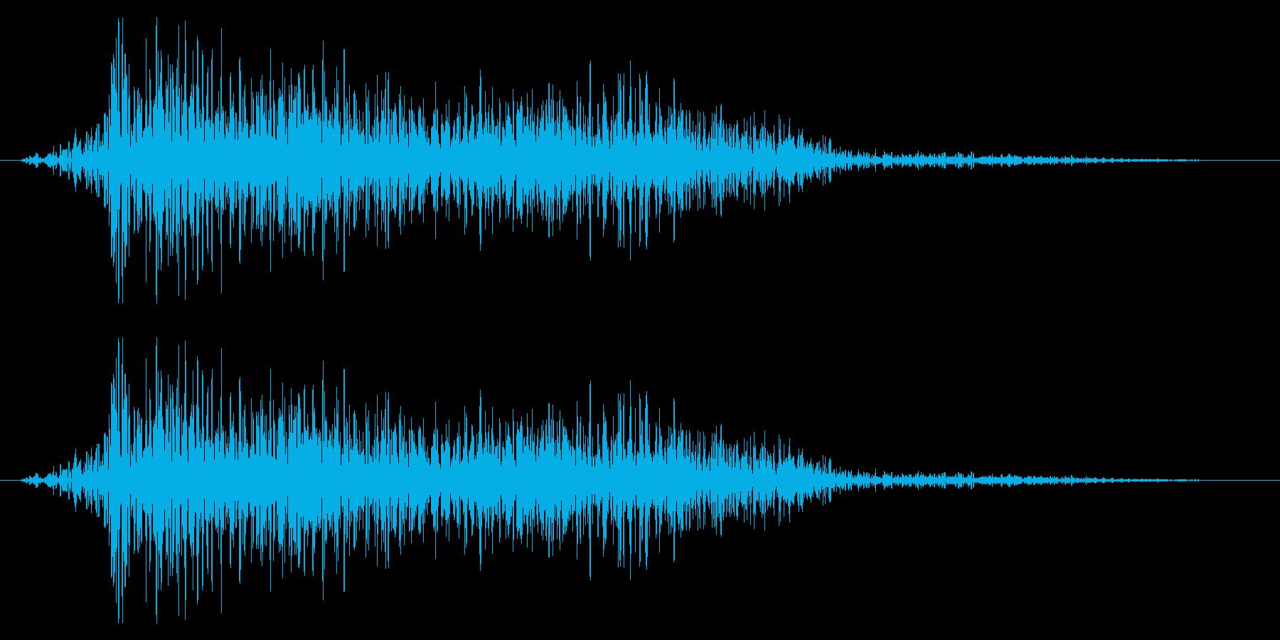 フライング ドラゴン ダメージ 弱の再生済みの波形