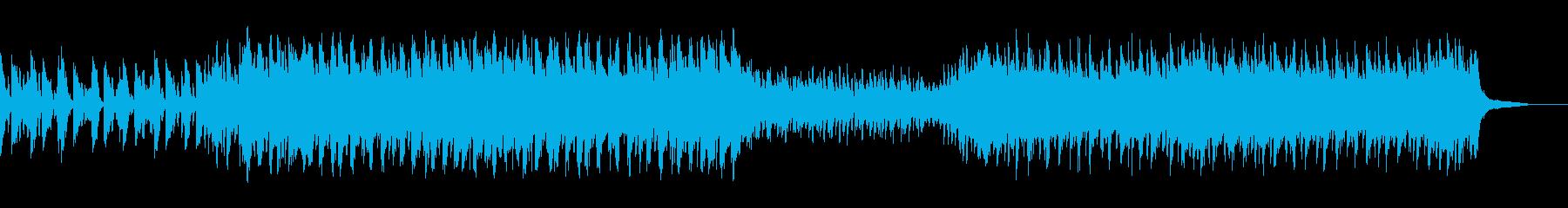 手がかりを掴んで動き出す曲の再生済みの波形