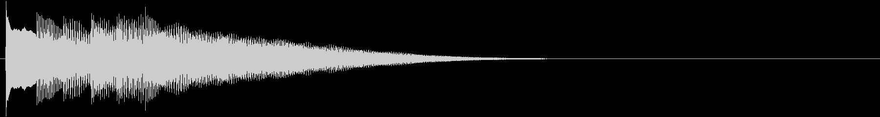 フレーズ系08 文字、テロップ表示(大)の未再生の波形