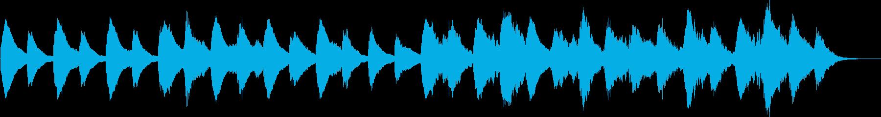 不安を掻き立てるホラーアンビエントの再生済みの波形